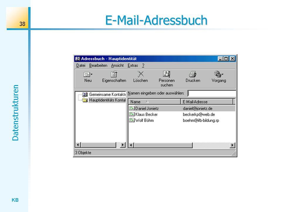E-Mail-Adressbuch