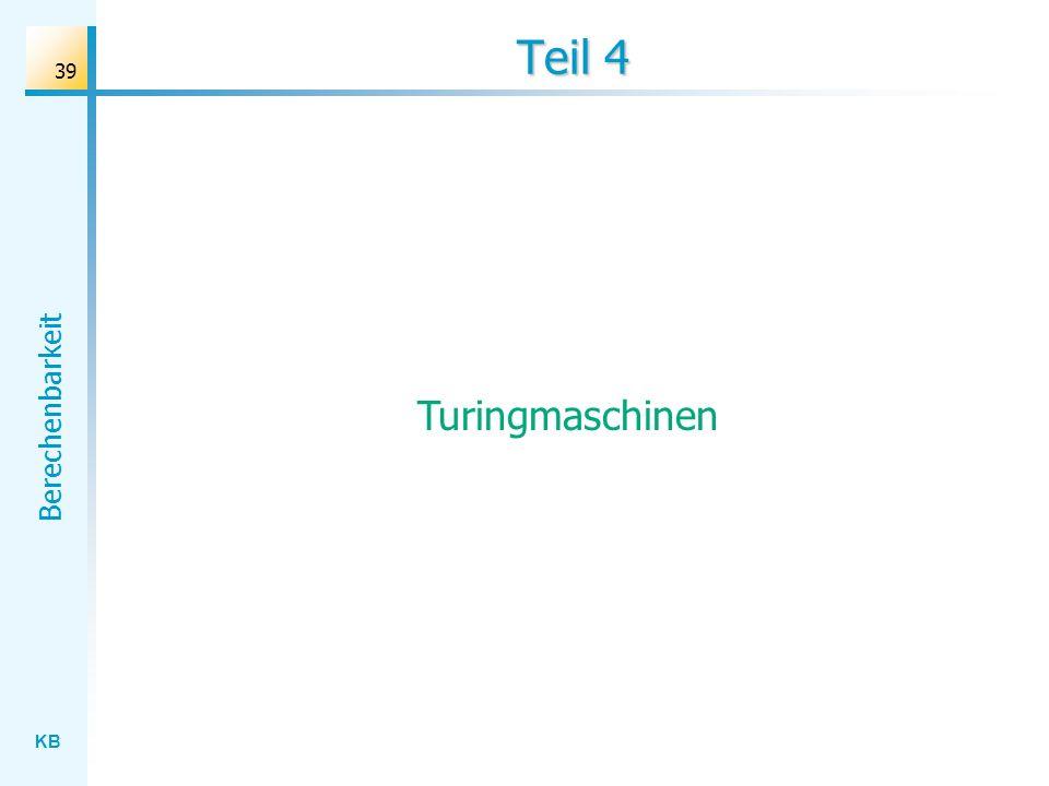 Teil 4 Turingmaschinen