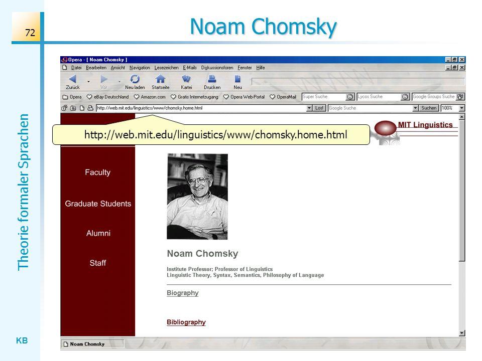 Noam Chomsky http://web.mit.edu/linguistics/www/chomsky.home.html