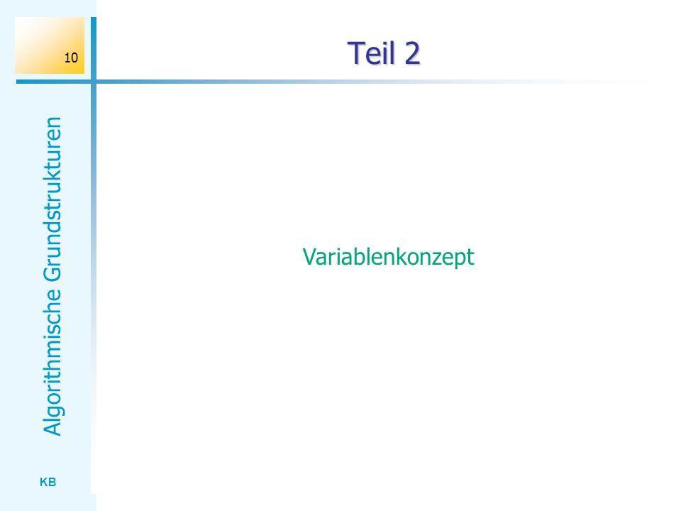Teil 2 Variablenkonzept