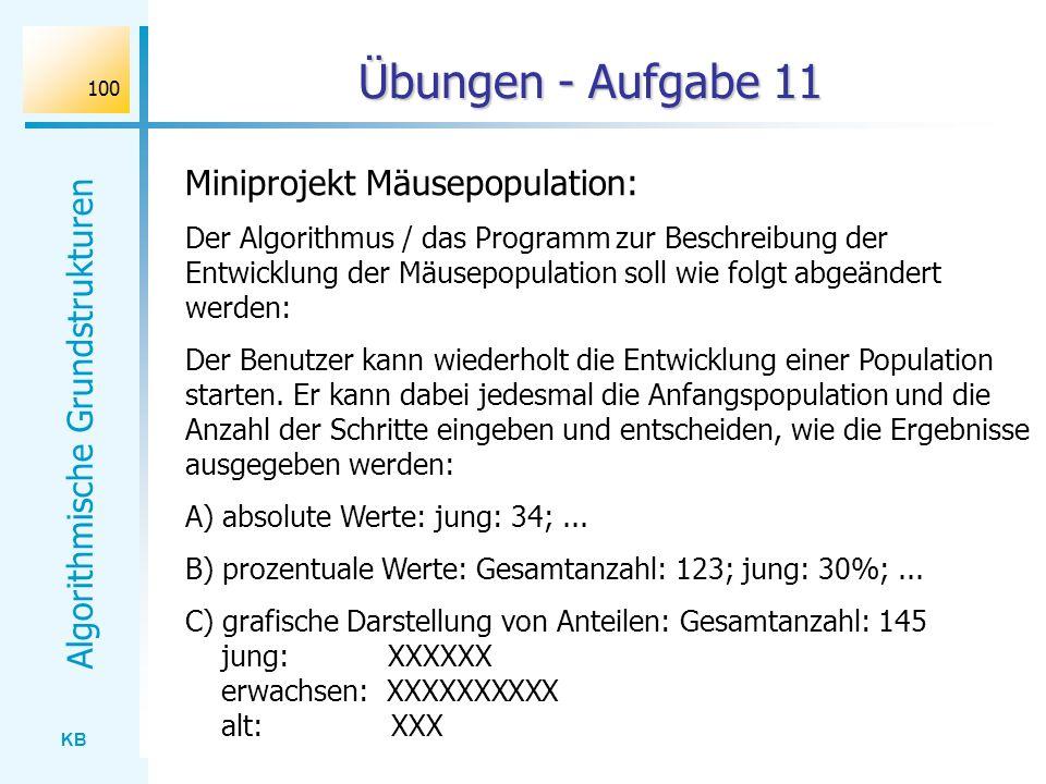 Übungen - Aufgabe 11 Miniprojekt Mäusepopulation: