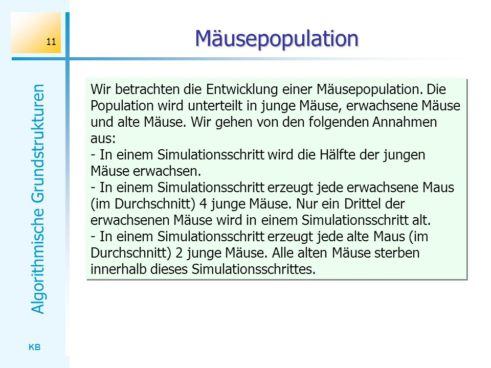 Mäusepopulation