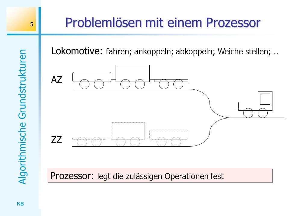 Problemlösen mit einem Prozessor