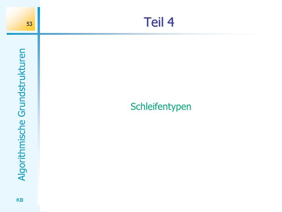Teil 4 Schleifentypen