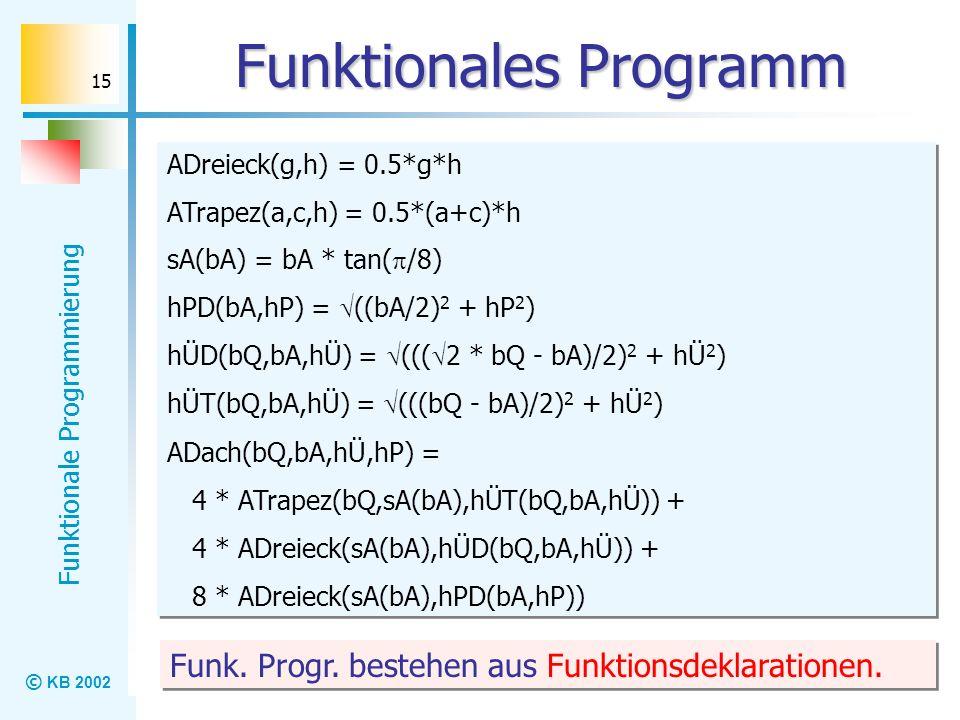 Funktionales Programm