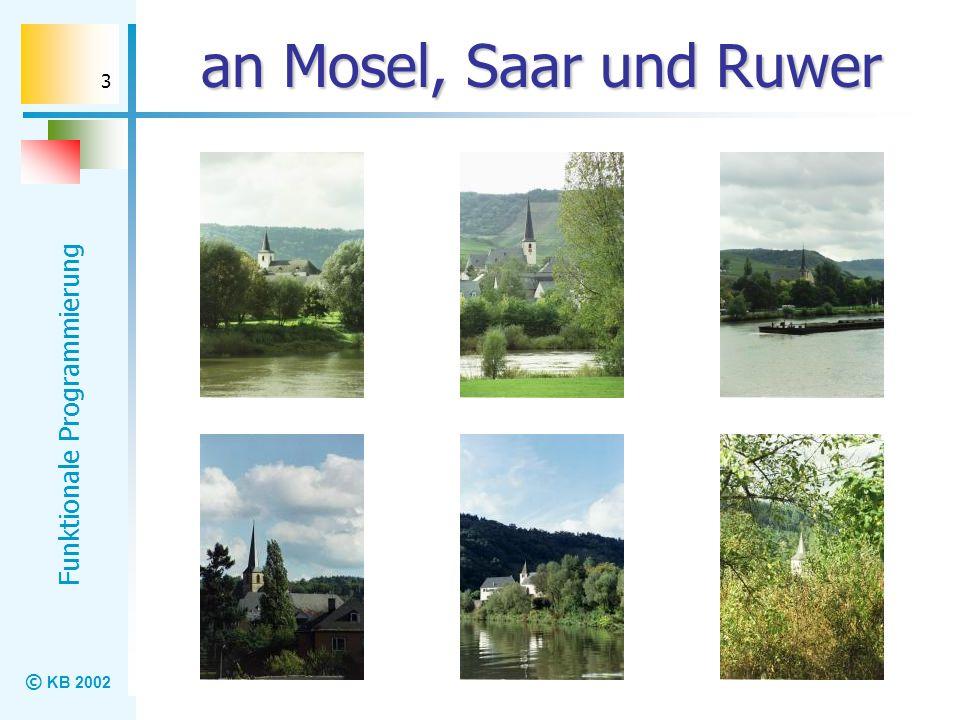 an Mosel, Saar und Ruwer