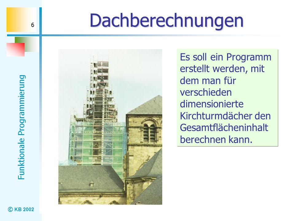 Dachberechnungen