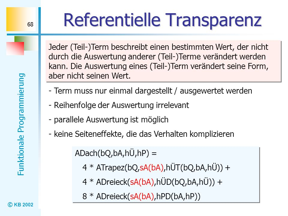 Referentielle Transparenz