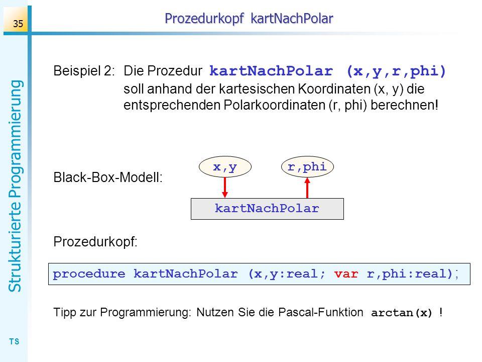 Prozedurkopf kartNachPolar