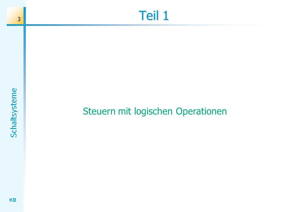 Steuern mit logischen Operationen