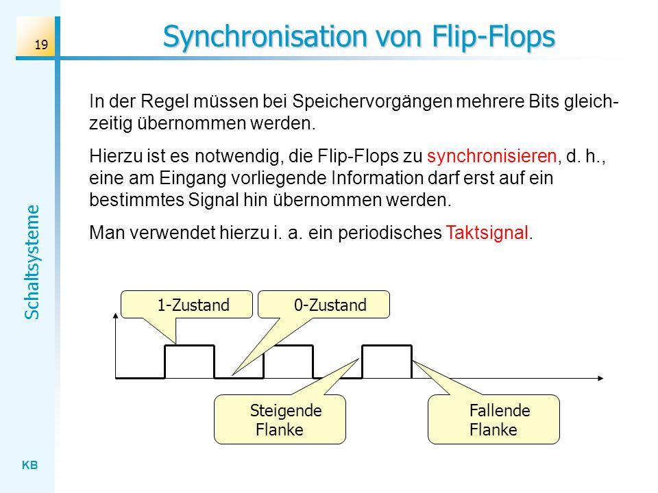 Synchronisation von Flip-Flops