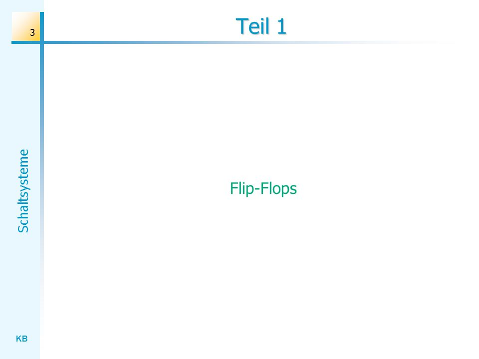 Teil 1 Flip-Flops