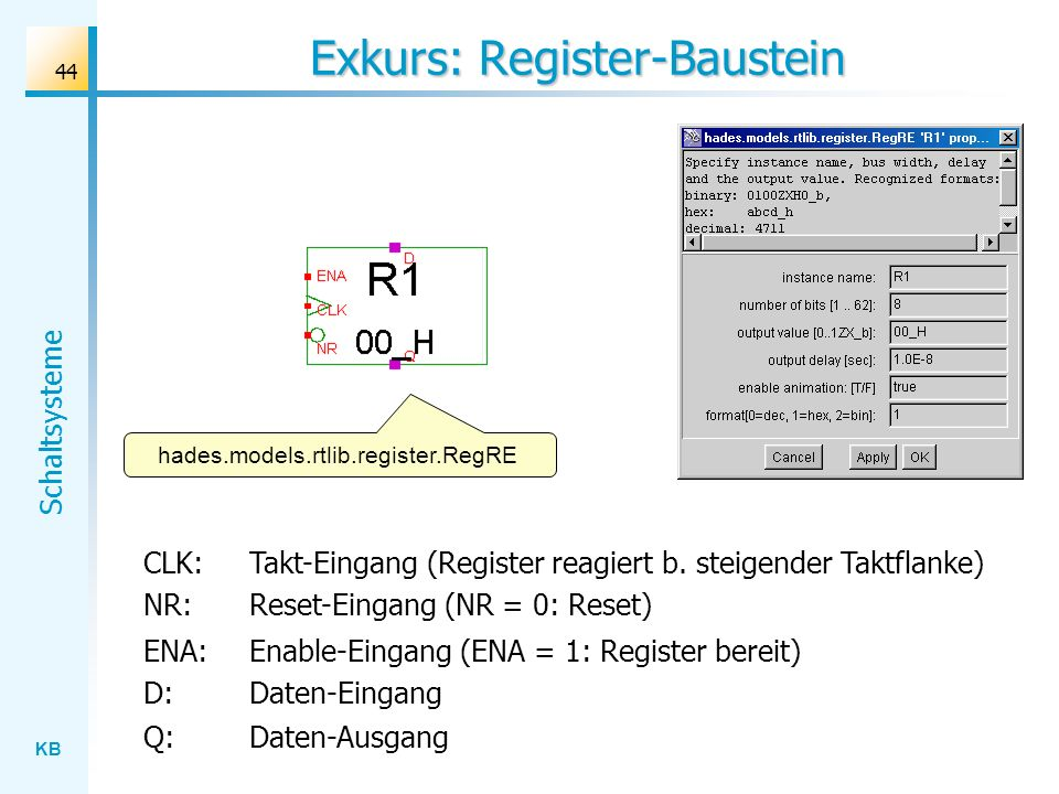 Exkurs: Register-Baustein
