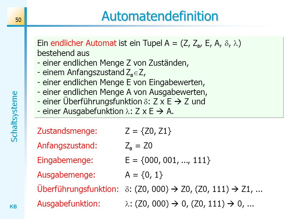Automatendefinition