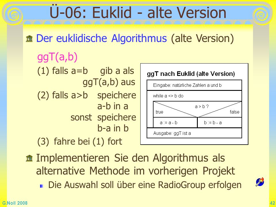 Ü-06: Euklid - alte Version