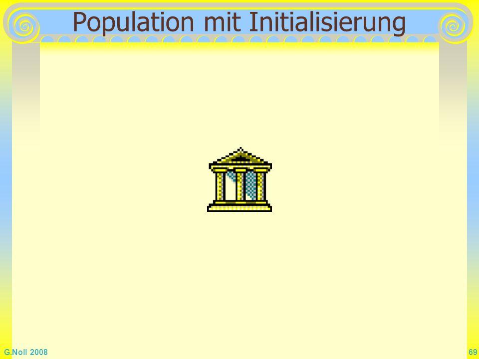 Population mit Initialisierung