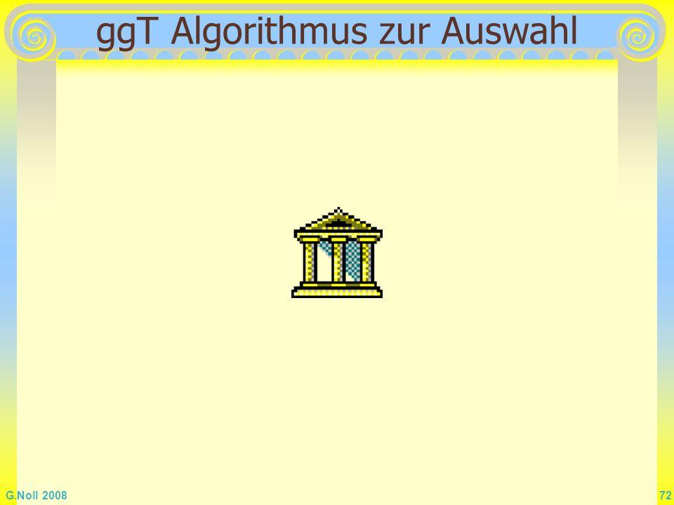 ggT Algorithmus zur Auswahl