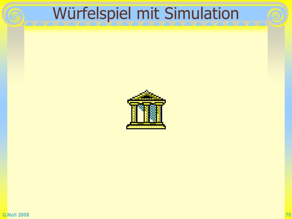 Würfelspiel mit Simulation