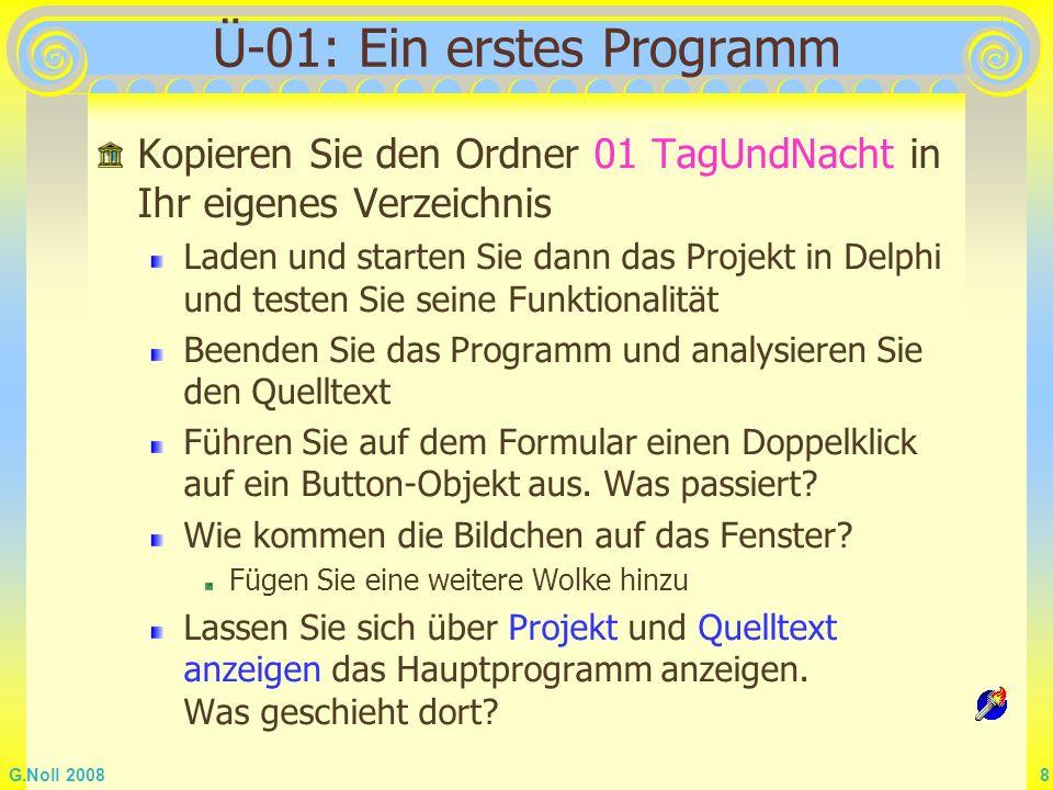 Ü-01: Ein erstes Programm