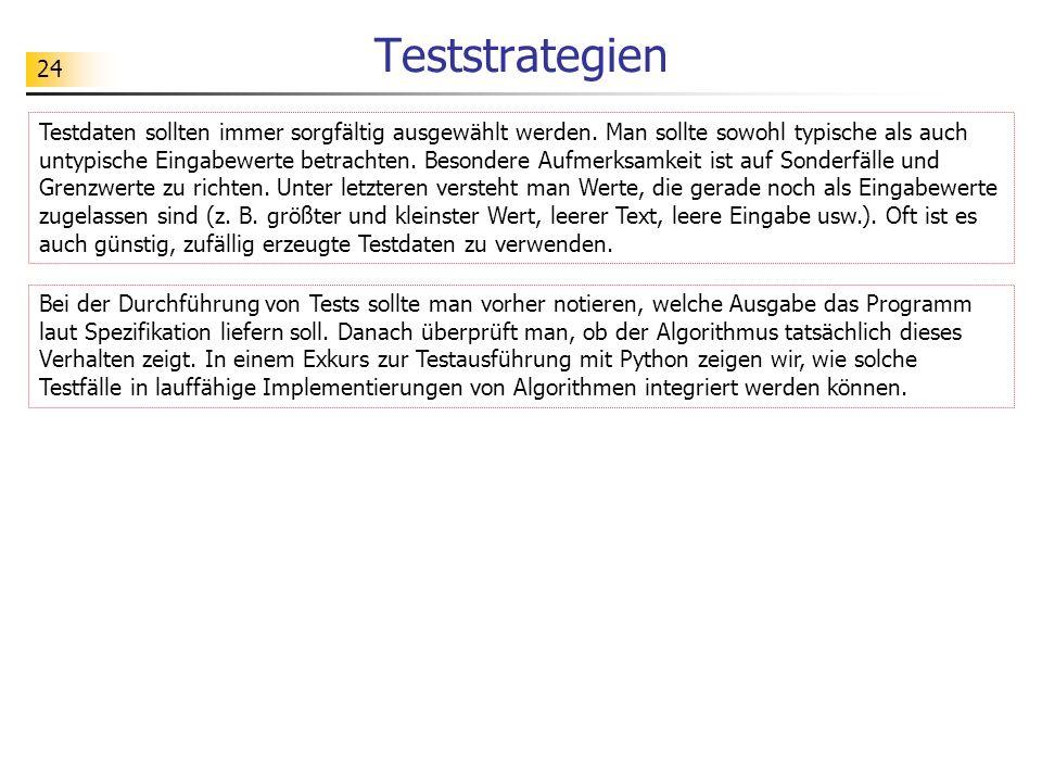 Teststrategien