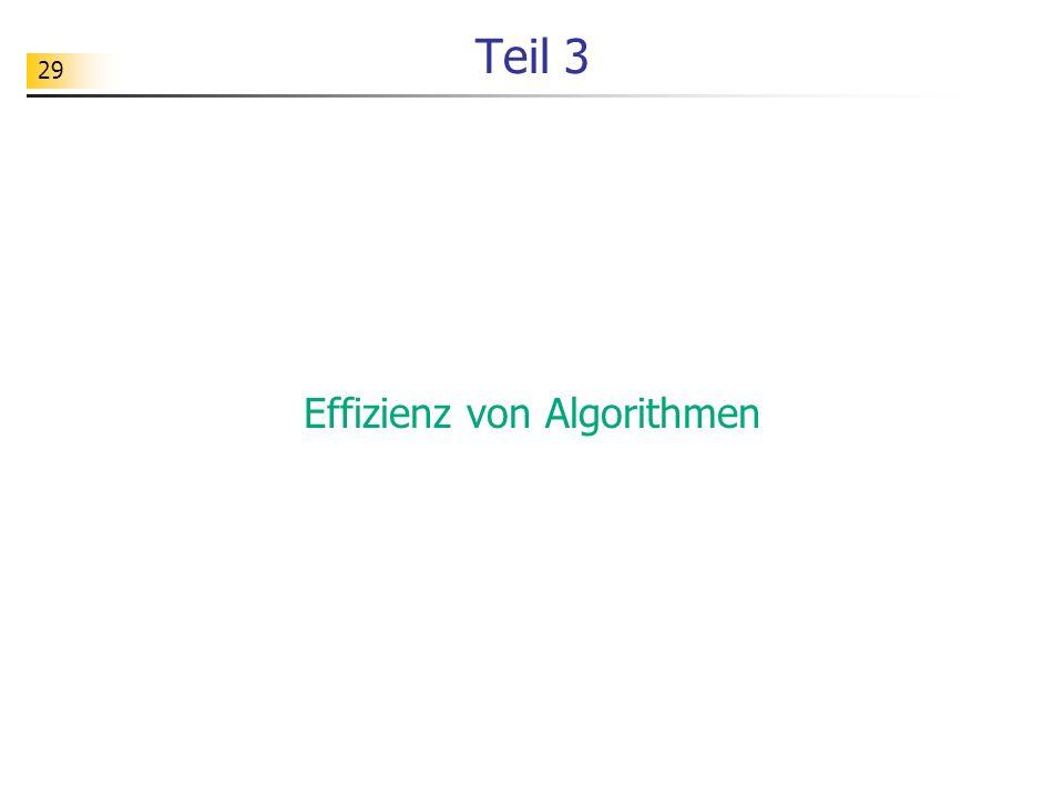 Effizienz von Algorithmen