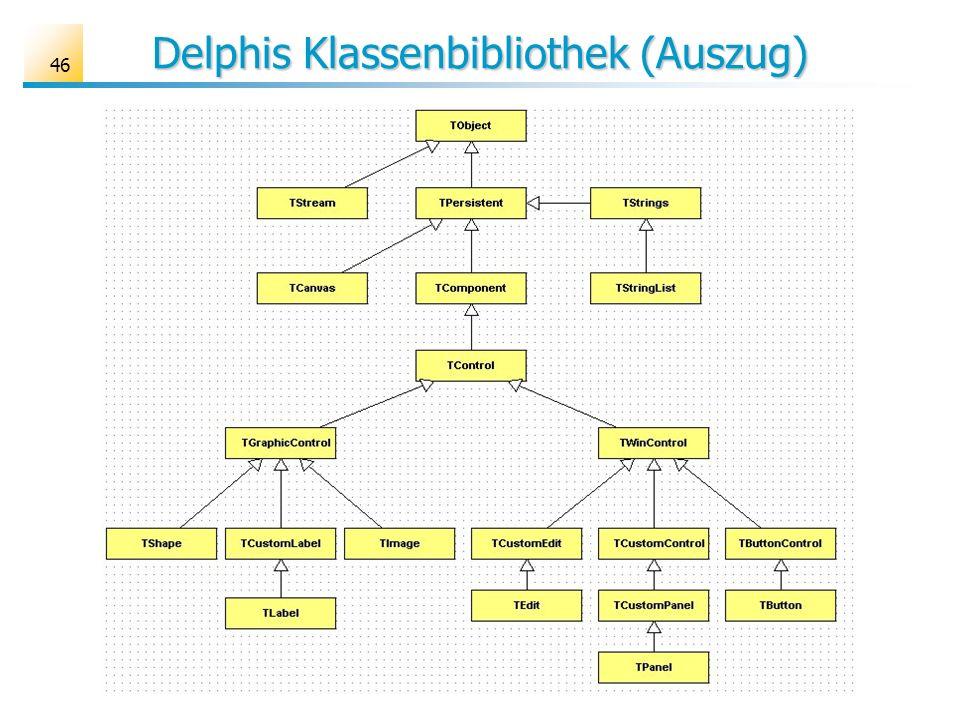 Delphis Klassenbibliothek (Auszug)