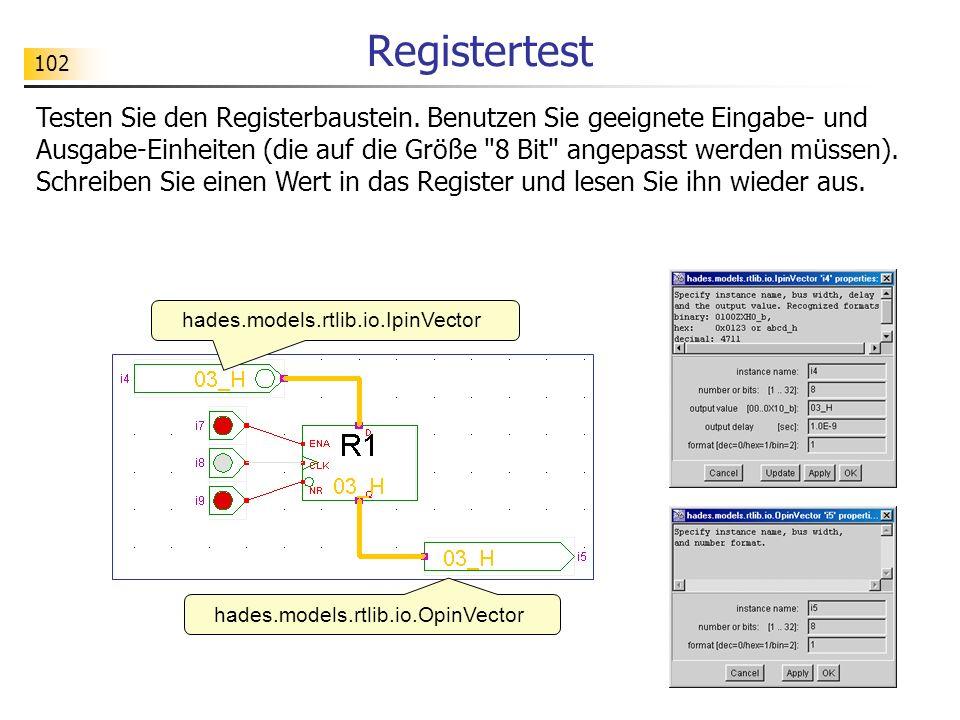 Registertest