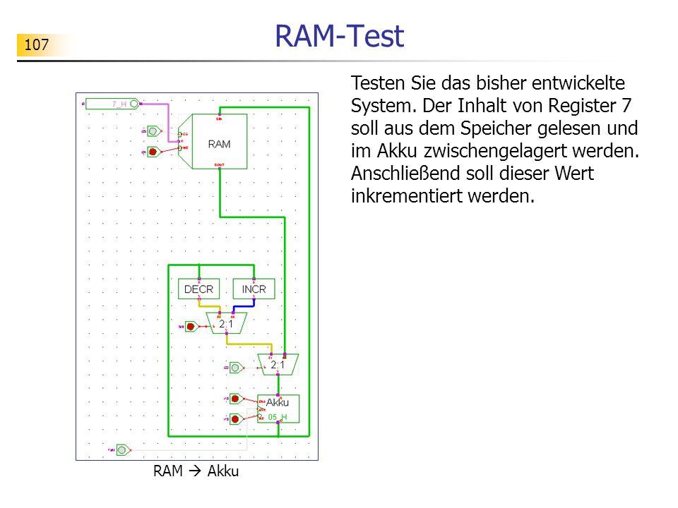 RAM-Test