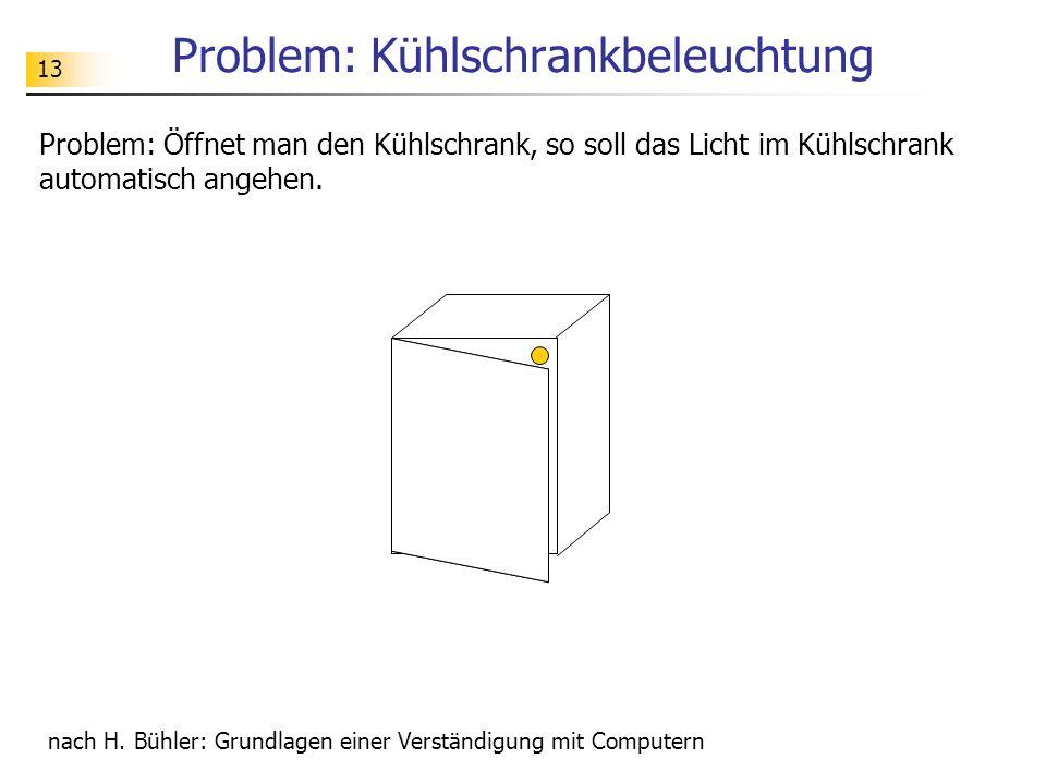 Problem: Kühlschrankbeleuchtung