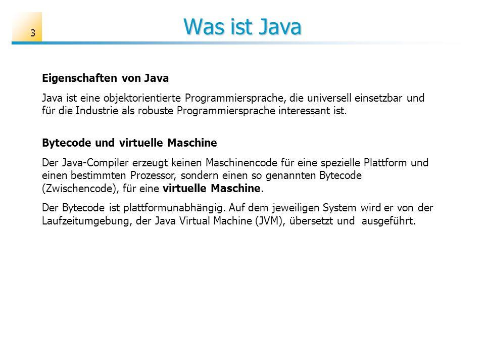 Was ist Java Eigenschaften von Java