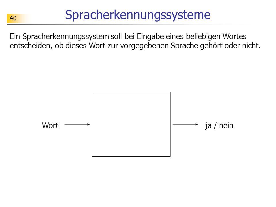 Spracherkennungssysteme