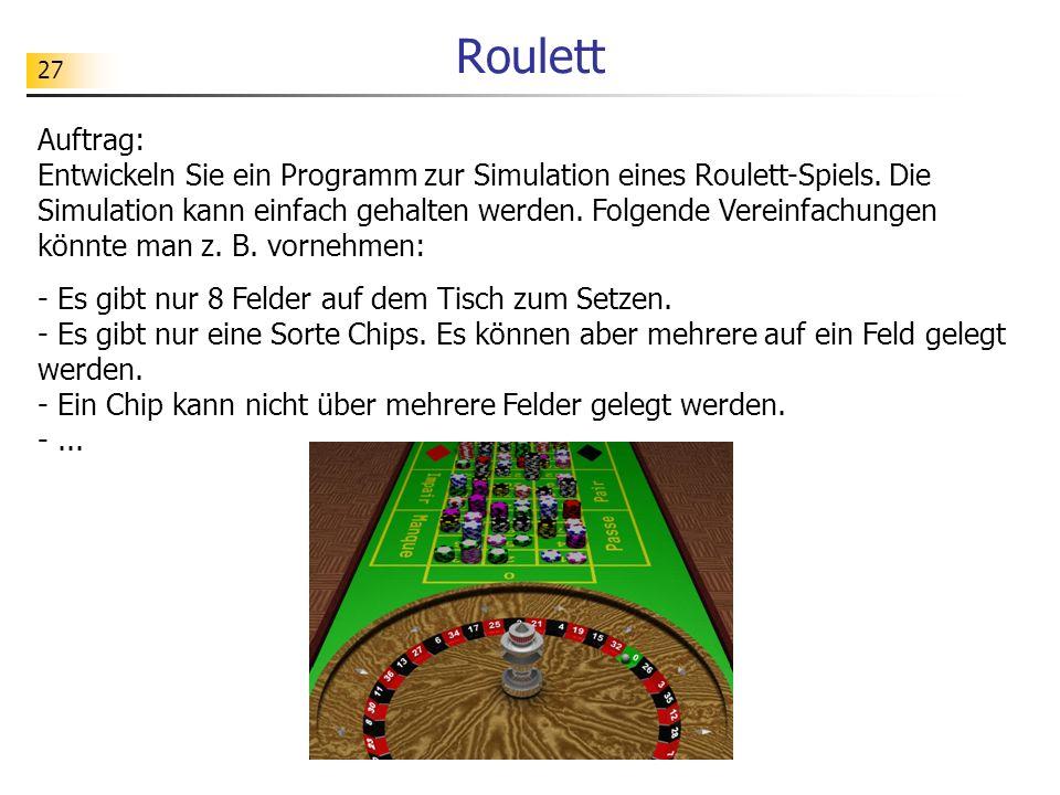 Roulett