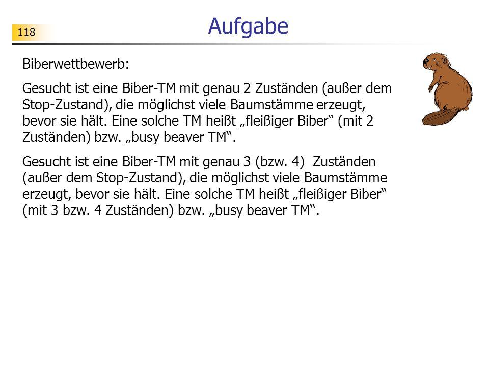 Aufgabe Biberwettbewerb: