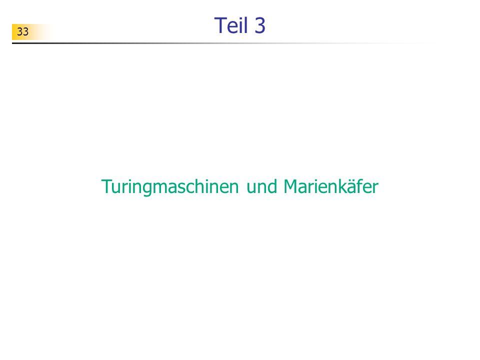 Turingmaschinen und Marienkäfer