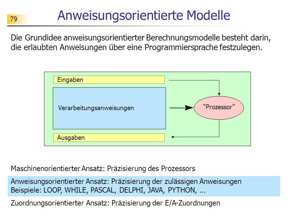 Anweisungsorientierte Modelle