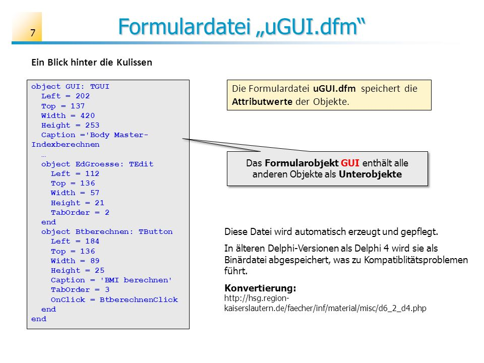 "Formulardatei ""uGUI.dfm"