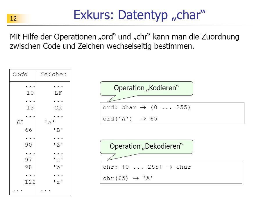"Exkurs: Datentyp ""char"