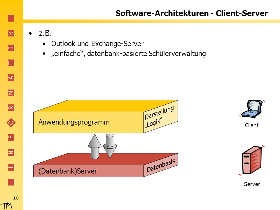 Software-Architekturen - Client-Server
