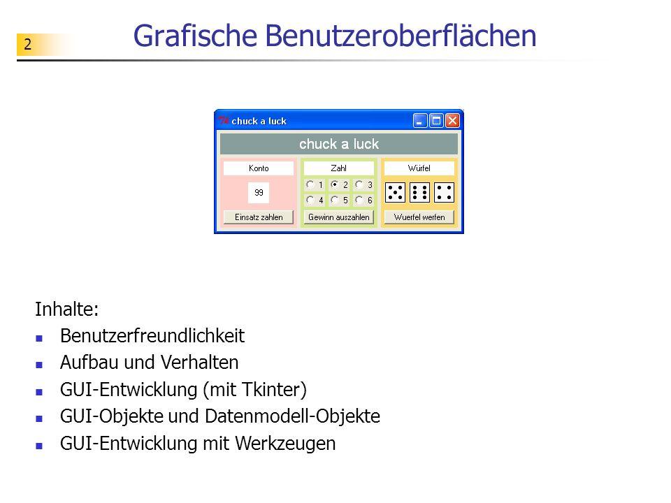 Grafische Benutzeroberflächen