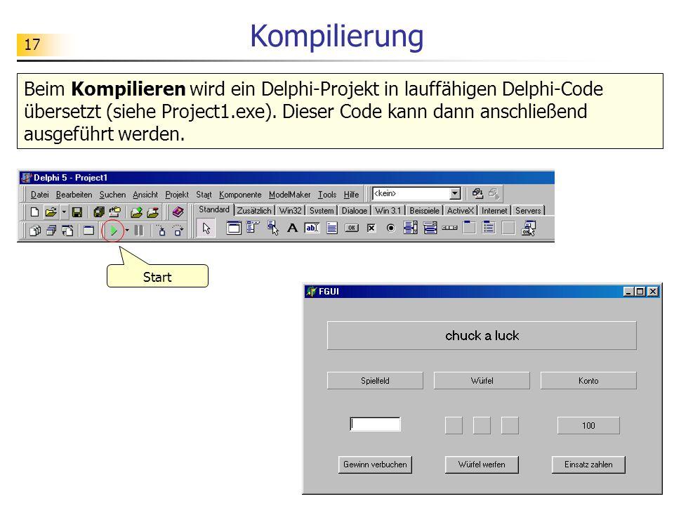 Kompilierung