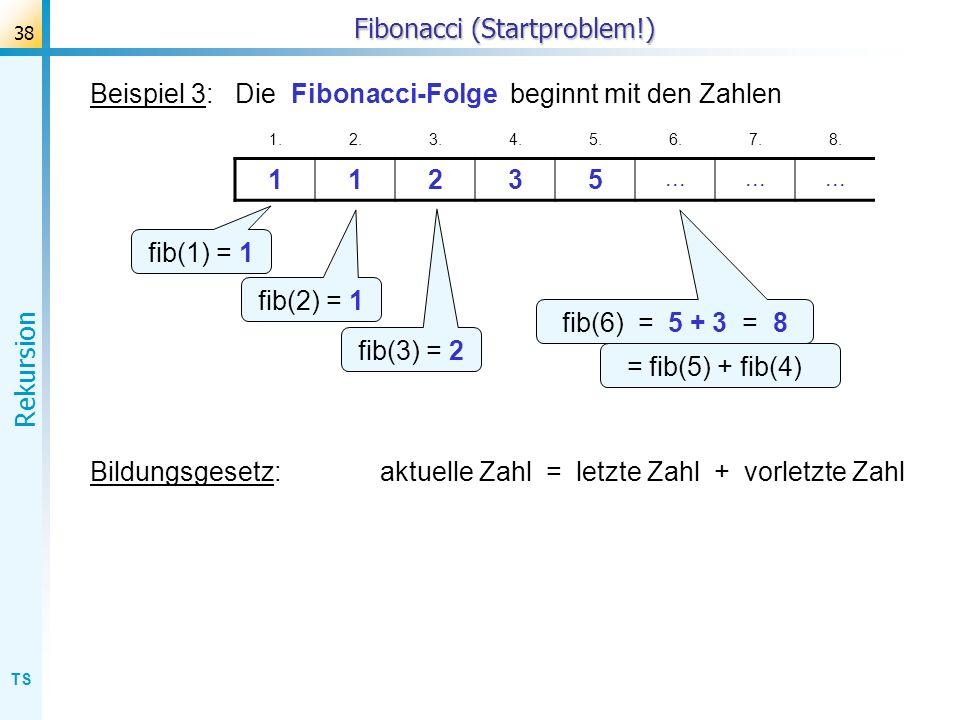 Fibonacci (Startproblem!)
