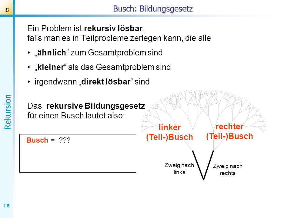 Busch: Bildungsgesetz