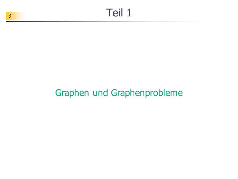 Graphen und Graphenprobleme