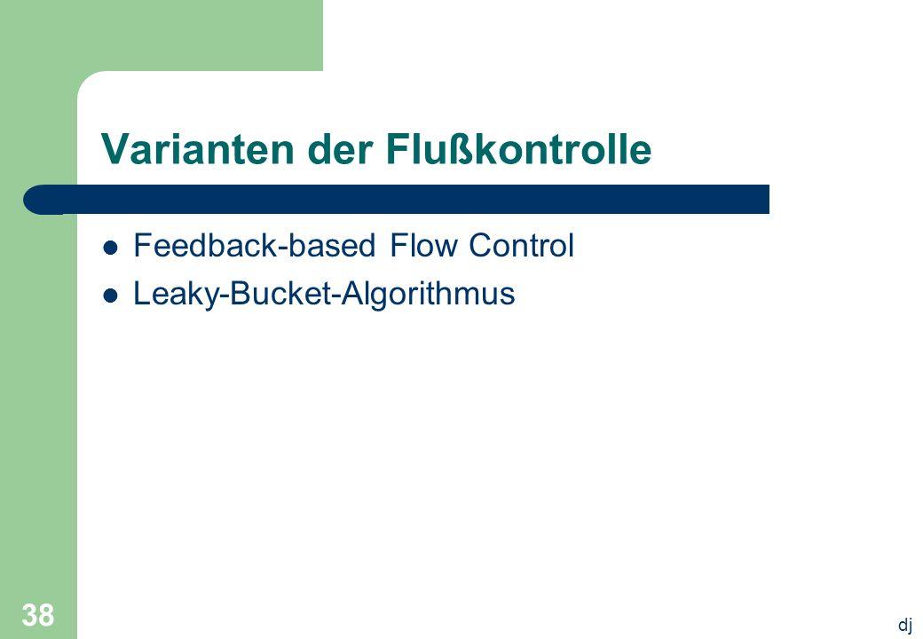 Varianten der Flußkontrolle