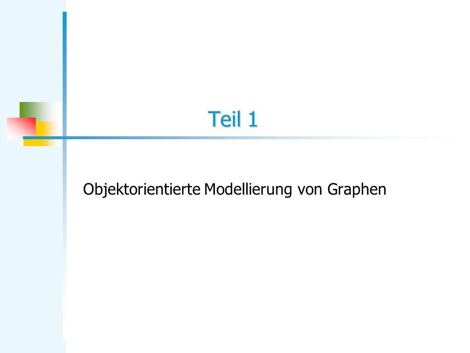 Objektorientierte Modellierung von Graphen