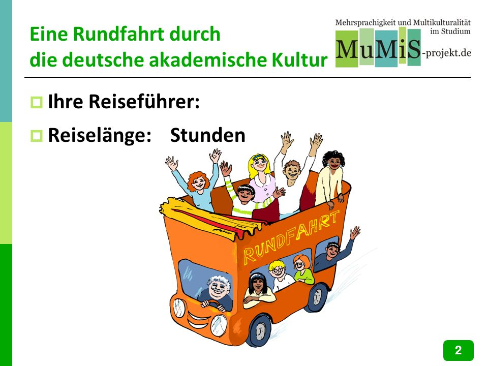 Eine Rundfahrt durch die deutsche akademische Kultur