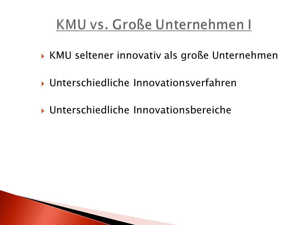 KMU vs. Große Unternehmen I