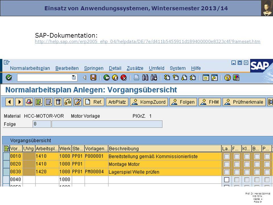 SAP-Dokumentation: http://help. sap