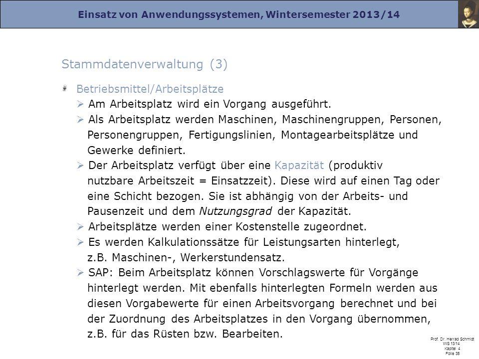 Stammdatenverwaltung (3)