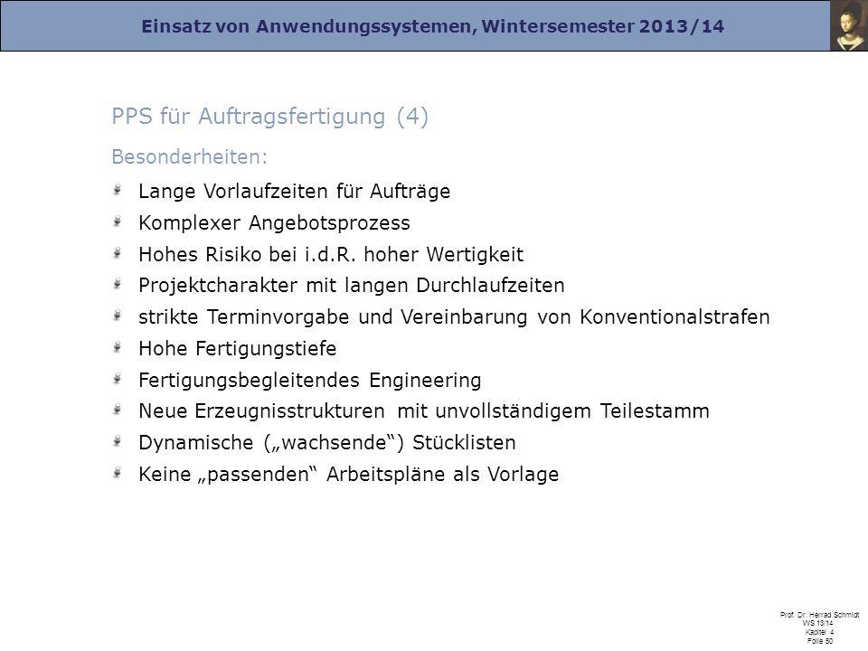 PPS für Auftragsfertigung (4)